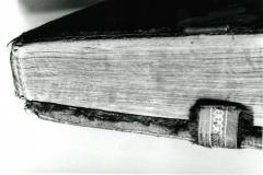 Photograph taken of codex shelfmarked Cod. Lat. 234 before restoration