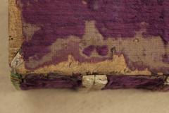 Az oromszegő-alapot vasszög rögzíti