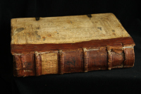 Codex with a repaired spine