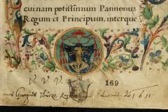 Címer a kódex első lapján