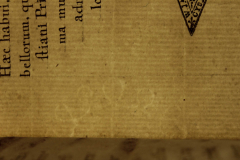 A szöveg kiegészítéséhez használt papír vízjele