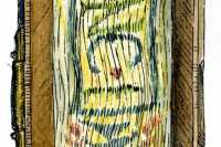 Detail of the fore-edge
