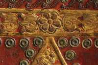 Detail of the board decoration