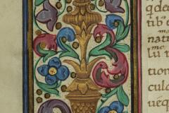 Aranyfestés a szöveg keretdíszén