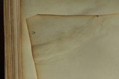 Korabeli, a szöveg írását megelőző javítás