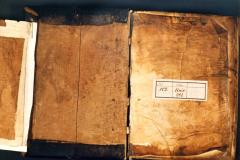 A Cod. Lat. 414 restaurálás előtti fotója