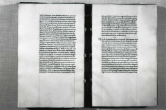 Photograph taken of codex shelfmarked Cod. Lat. 417 before restoration