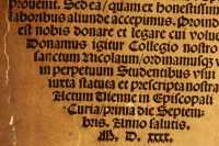 Watermark of Johannes Fabri's printed ex libris