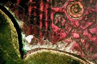 Kialakításnyomok figyelhetőek meg a csat élén a mikroszkópos felvételen