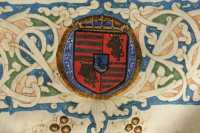 The Hungarian and Bohemian royal coat-of-arms of King Matthias