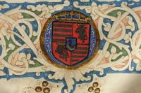 Mátyás magyar és cseh királyi címere