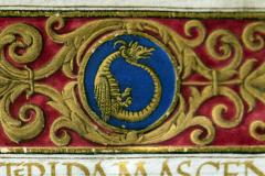 Sárkány  – Cod. Lat. 345 (Országos Széchényi Könyvtár)