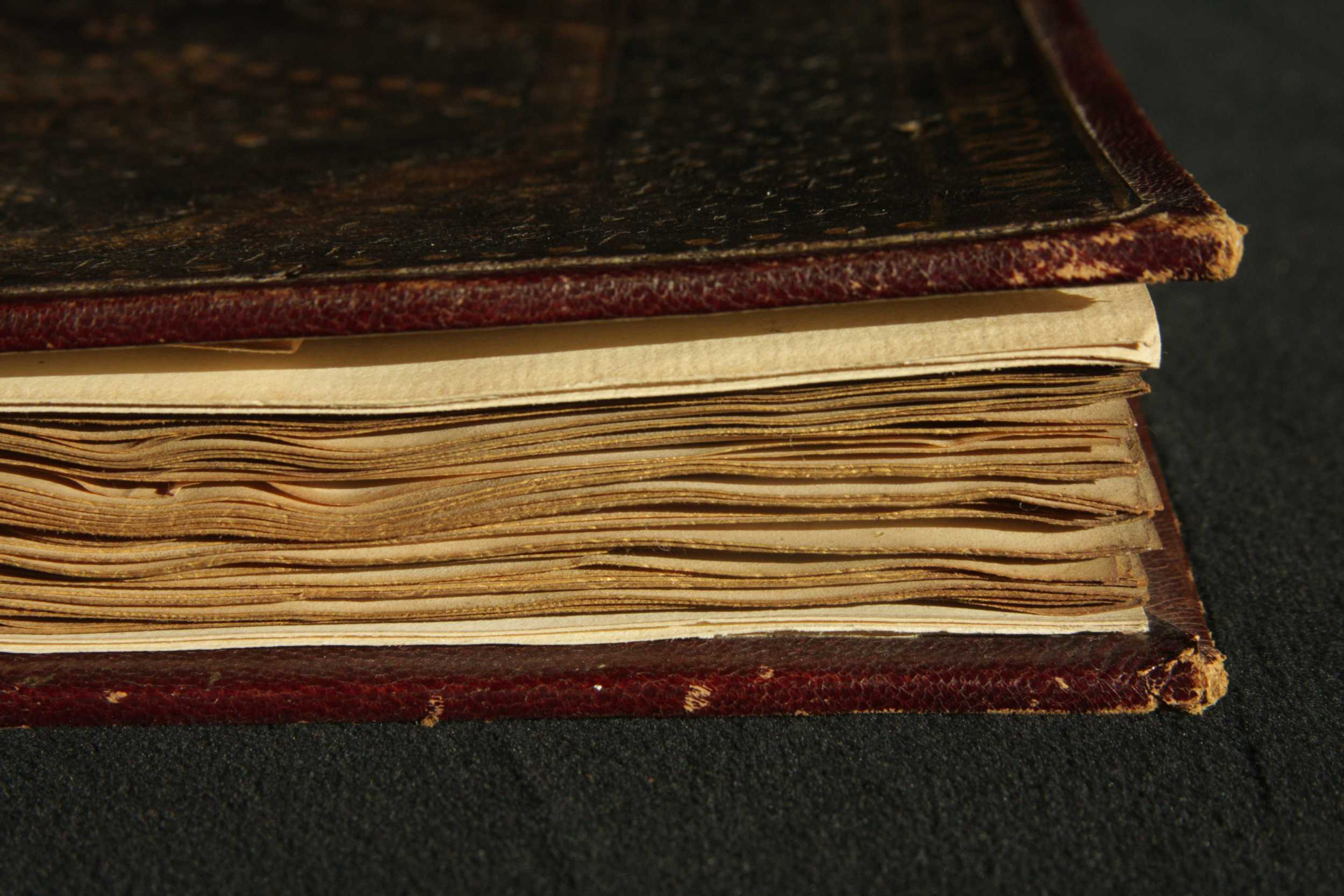 Gilded and gauffered fore-edge