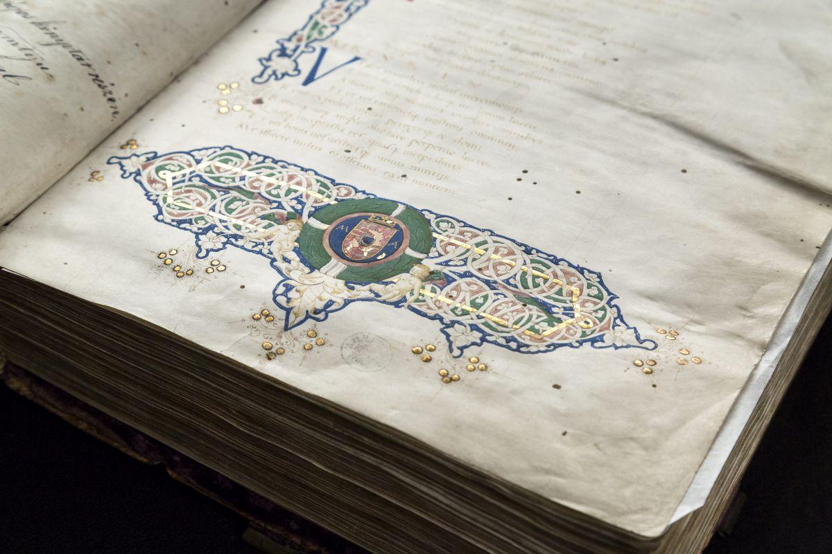 Cod. Lat. 241. Plautus: Commoediae. Készült: 1459 előtt Firenzében, őrzési hely: Országos Széchényi Könyvtár