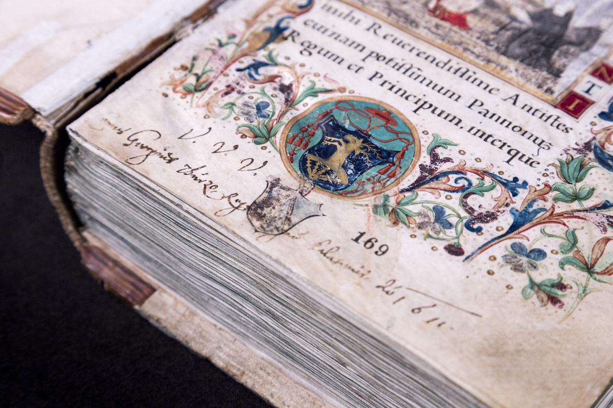Cod. Lat. 249. Ransanus: Epitome rerum Hungaricarum. Keeper location: National Széchényi Library